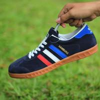 sepatu Adidas Hamburg navy france sneaker casual football pria