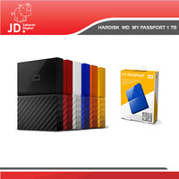 Hardisk WD 1TB My passport hdd External WD 1TB