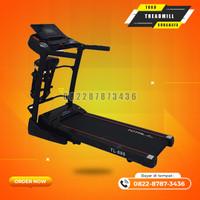 Treadmill elektric auto incline motor 2hp tipe TL680 total gym