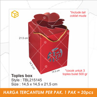 TBL215145   Toples Box imlek. CNY. Kotak. Packaging