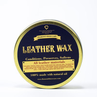 LEATHER WAXX 50gr leather treatment diamond shoes care