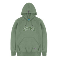 SKYMO APPAREL | HOODIE ACADEMY GREEN ON GREEN
