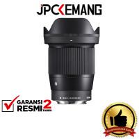 Sigma 16mm F1.4 DC DN Contemporary Lensa Sigma 16mm f/1.4 GARANSIRESMI