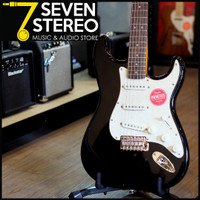 Squier Classic Vibe 70s Stratocaster Black Electric Guitar