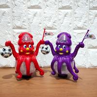 Mainan Anak Gurita Bola Soccer Octopus Dance ada Musik dan Lampu