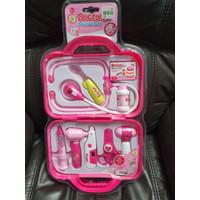 Doctor Nurse Set Mainan Anak Perempuan Medical Dokter Suster Set