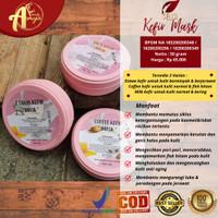 Masker Kefir SR12 Solusi Kulit Berjerawat Berminyak Flek Dan Kusam - Kefir Coffee