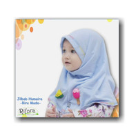 jilbab bergo instan anak bayi Humaira hijab balita rifara kerudung tud - tulis di ket.