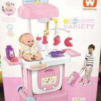Mainan Anak Nursery Playset Mainan Suster Merawat Bayi