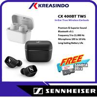 Sennheiser CX400BT CX 400BT TWS True Wireless Earphones Garansi Resmi