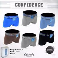 SOREX Sport Cd BOXER Pria Seamless 363 Free size