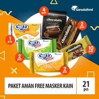 Paket Aman Free Masker Kain, New Normal