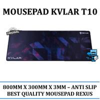 Rexus Mousepad Gaming Kvlar T10 Speed Edition XL