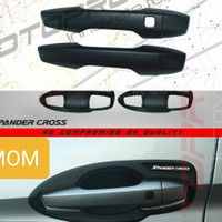 Paket cover handle pintu + Outer mangkok elite black Xpander Cross
