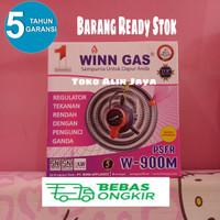 WINN GAS REGULATOR SELANG PAKET TERMURAH W900M