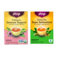 Yogi Tea Green Tea Super Antioxidant, Echinacea Immune Support