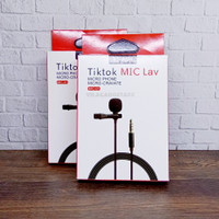 Mic Lav Micro Phone Mic Clip On Smule Tiktok voice microphone