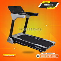 alat olahraga Treadmill elektrik TL166 motor 3hp total gym