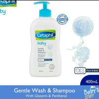 cetaphil baby gentle wash & shampoo 400 ml