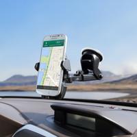 Long Neck Car Holder Mobil Stand Bracket HP GPS Handphone Smartphone