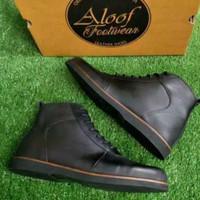 ALOOF CARE Kulit Asli 39-43   Sepatu Boots Pria Premium Original