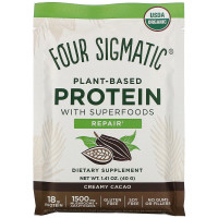 Four Sigmatic Plant-Based Protein Powder with Superfoods Creamy Cacao