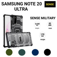 sense case casing us military series samsung s note 20 ultra