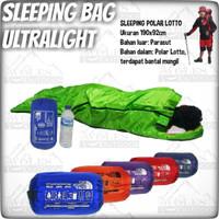 Sleeping Bag Polar Bantal UL / Sleeping Bag Bantal Ultralight