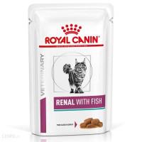 Royal Canin Cat Renal Pouch With Tuna 85 Grm / Pcs - Termurah