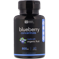 Sports Research Blueberry Concentrate 800 mg 60 Softgels Antioxidants