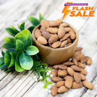 Kacang Almond Panggang Kupas Roasted 1 Kg Original Natural Super Food