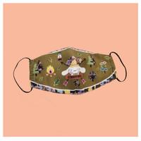 Rinda Salmun x Cinnamoroll - Cloth Mask Camping Green
