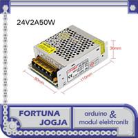 Power Supply Adaptor DC 24V 2A Switching Transformer 110 - 220V AC