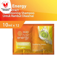 Makarizo Hair Energy Fibertherapy Shampoo Kiwi 240x10ml ( 1 Dus )