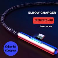 Baseus Kabel Charger Iphone/ Kabel Data Gaming Iphone Lighting 2.4 A - Hitam
