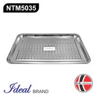 IDEAL NTM5035 Nampan Stainless Tiris / Saring Minyak Gorengan 50x35