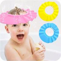 Topi Keramas Bayi Anak / Penutup Kepala Mandi Anak / Baby Shower Cap