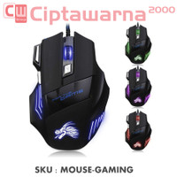 Mouse Gaming 7 Keys LED 5500 DPI