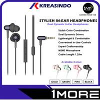 1More Stylish In Ear Headphones Earphones Garansi Resmi Tam