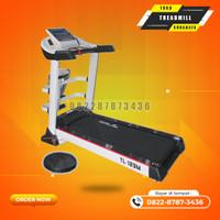 Alat olahraga treadmill elektrik tipe TL123M total gym