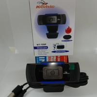 Komic webcam HD 720P web camera with microphone kualitas HD