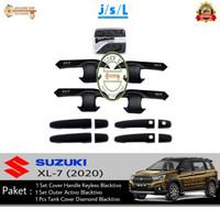 Paket Suzuki XL7/XL-7 Handle Keyless, Outer Blacktivo, Tank Cover