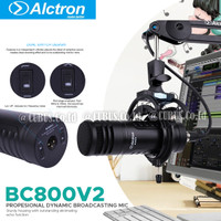Alctron BC800 V2 Profesional Dynamic Broadcasting Mic hyper cardioids