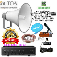 Paket Speaker TOA Musolah (Original) Best Quality