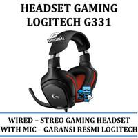 Headset Logitech G331 Stereo Gaming - Original Product