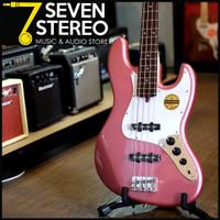 Bacchus BJB-1R BJB1R Jazz Bass Model Burgundy