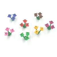 Lego Aksesoris Plate Round With Flower Edge 1 x 1 Set Original