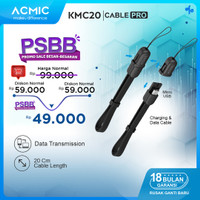 ACMIC KMC20 Kabel Data Charger 20cm Micro USB Fast Charging Cable