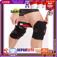AOLIKES 7618 Knee Pad With 4 Spring Knee Support Deker Pelindung Lutut