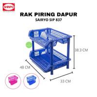 Rak Piring Plastik Susun 2 Shinpo Sairyo SIP-837